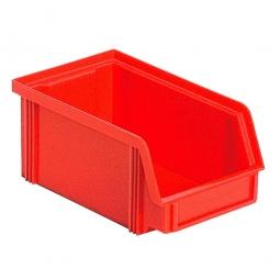 Sichtbox CLASSIC FB 5, LxBxH 170/140 x 100 x 77 mm, Gewicht 80 g, 1 Liter, rot