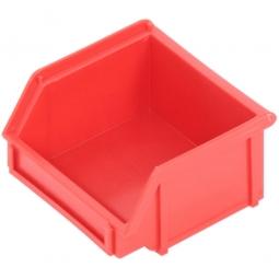 Sichtbox CLASSIC FB 6, LxBxH 95/65 x 100 x 50 mm, Gewicht 47 g, 0,3 Liter, rot
