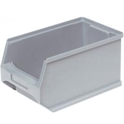 Sichtbox PROFI LB4, grau, Inhalt 2,9 Liter., LxBxH 235x145x125 mm, innen 195x125x115 mm.