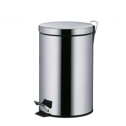 Tret-Abfalleimer, Edelstahl, 12 Liter, ØxH 255x395 mm