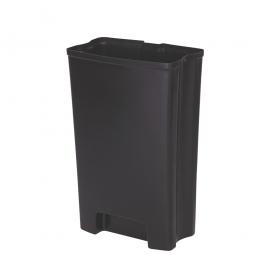 Innenbehälter für Tretabfalleimer Slim Jim, 50 Liter, BxTxH 237 x 311 x 376 mm, PE-HD
