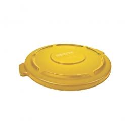 Deckel für runden Brute Container 76 Liter, gelb