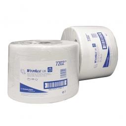 Putzpapier, weiß, 1- lagig, BxL 235x380 mm, (VE=2 Rollen á 1000 Blatt)