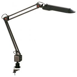 Funktionsleuchte, schwarz, Mit Tischklemme und flexiblem Arm