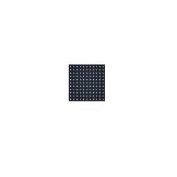 System-Lochplatte, BxH 500x450 mm, Aus 1,25 mm Stahlblech, kunststoffbeschichtet in anthrazitgrau