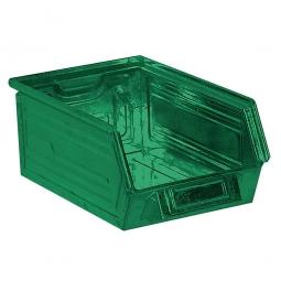 Sichtbox SB6 aus Stahlblech, 8,5 Liter, LxBxH 350/300 x 200 x 145 mm, grün