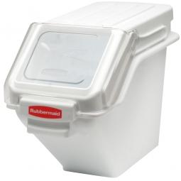 Stapelbarer Zutatenbehälter, 23,5 Liter, LxBxH 597 x 292 x 427 mm, weiß