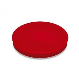 Haftmagnete, rot, Durchmesser 30 mm, Haftkraft 800 g, Paket=10 Magnete