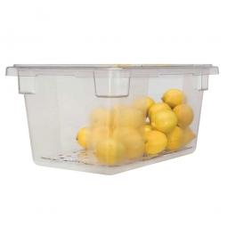 Lebensmittelbehälter, LxBxH 660 x 457 x 230 mm, 47 Liter, glasklar