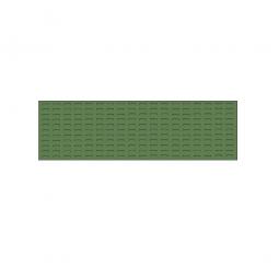 System-Schlitzplatte BxHxT 1500x450x18 mm, Aus 1,25 mm Stahlblech, kunststoffbeschichtet in resedagrün