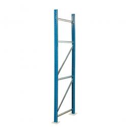 Paletten-Steckregal-Rahmen, zerlegt, HxT 2500 x 1100 mm, Profil PN85, Tragkraft 12000 kg