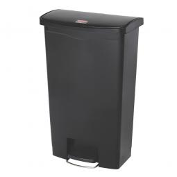 Tretabfalleimer Slim Jim, 68 Liter, schwarz, LxBxH 500 x 311 x 803 mm
