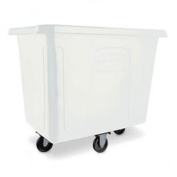 """Beschickungswagen """"Cube Truck"""", 500 Liter, weiß, Polyehtylen-Kunststoff (PE), LxBxH 1120 x 820 x 950 mm"""