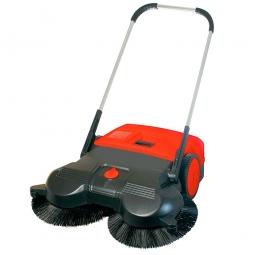 Hand-Kehrmaschine, Kehrbreite 970 mm, Volumen 50 Liter, Kehrleistung ca. 3600 m²/h, Gewicht 13 kg