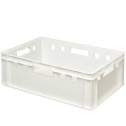 E2-Fleischkasten, LxBxH 600x400x200 mm, PE-HD, 40 Liter, weiß