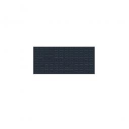 System-Schlitzplatte BxHxT 1000x450x18 mm, Aus 1,25 mm Stahlblech, kunststoffbeschichtet in anthrazitgrau