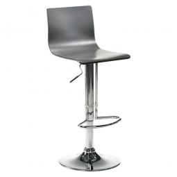 Bar- und Tresenhocker, Sitzhöhe 580-800 mm, Farbe schwarz, Belastbar bis 110 kg, Sitz um 360° drehbar