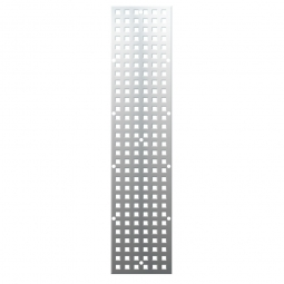 Wandschiene, silber, LxB 800x140 mm, 16 mm stark, ohne Befestigungsmaterial