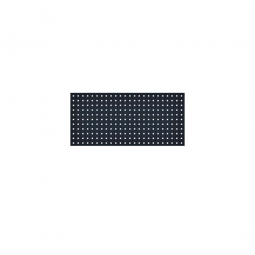 System-Lochplatte, BxH 1000x450 mm, Aus 1,25 mm Stahlblech, kunststoffbeschichtet in anthrazitgrau