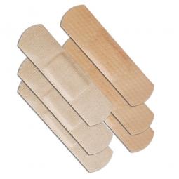 Nachfüllpack für Pflasterspender, 19x72 mm, 50 Stück wasserfest und 50 Stück elastisch