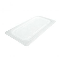 Soft-Deckel für Schale GN1/3, LxB 325x176 mm, Polyethylen-Kunststoff (PE-HD), weiß