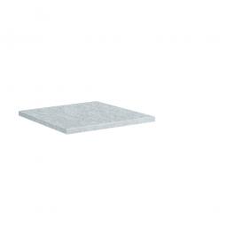 Einlegeboden für Materialschrank, HxBxT 24x697x452 mm, verzinkt