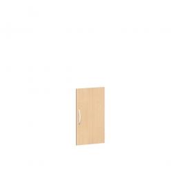 Flügeltür FLEX für 2 Ordnerhöhen, Buche, Breite 400 mm, mit Metallscharnieren und Türdämpfern