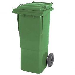 Müllbehälter, 60 Liter, grün, BxTxH 445 x 520 x 930 mm, hohe Ausführung, Polyethylen (PE-HD)
