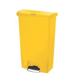 Tretabfalleimer Slim Jim, 68 Liter, gelb, LxBxH 500 x 311 x 803 mm