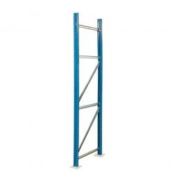 Paletten-Steckregal-Rahmen, zerlegt, HxT 4500 x 1100 mm, Profil PN85, Tragkraft 12000 kg