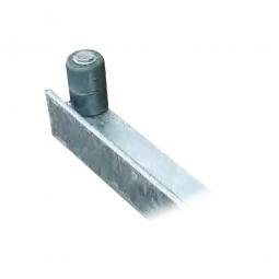 Halter mit Endanschlag links, Für Leichtmetallrohr