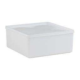 Vorratsbehälter mit dichtschließendem Deckel, 3,2 Liter, LxBxH 208 x 208 x 94 mm