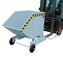 Kastenwagen, LxBxH 1430x1340x1285 mm, Volumen 1000 Liter, Tragkraft 300 kg, Gewicht 156 kg, verzinkt