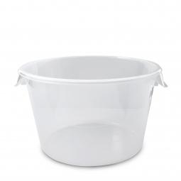 Runder Lebensmittelbehälter, Inhalt 11,5 Liter, HxØ 205x330 mm, mit Massskala