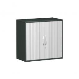 Querrollladenschrank PRO 2 Ordnerhöhen, graphit, BxHxT 800x768x425 mm