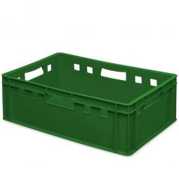 E2-Fleischkasten, LxBxH 600x400x200 mm, PE-HD, 40 Liter, grün