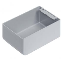 Einsatzkasten für Stapelbehälter 400x300 mm, LxBxH 128 x 89 x 55 mm, Farbe grau