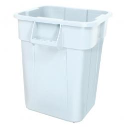 Eckiger Mehrzweckbehälter, 151 Liter, LxBxH 600 x 600 x 730 mm, weiß