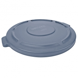 Deckel für runden Brute Container 167 Liter, grau