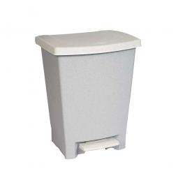 Pedaleimer, 25 Liter, ohne Einsatz, grau