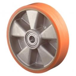 Polyurethanrad, Rad-ØxB 150x40 mm, Tragkraft 400 kg, rot