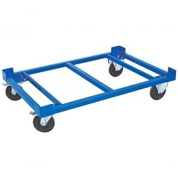 Fahrgestell, LxBxH 1220 x 820 x 330 mm, Tragkraft 1000 kg, Rad-ØxB 200 x 50 mm, Elastic-Vollgummi-Reifen