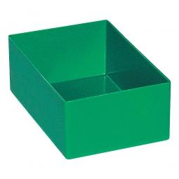 Einsatzkasten für Schubladen, grün, LxBxH 162x108x63 mm, Polystyrol-Kunststoff (PS)