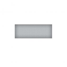 System-Lochplatte, BxH 1200x450 mm, Aus 1,25 mm Stahlblech, kunststoffbeschichtet in lichtgrau
