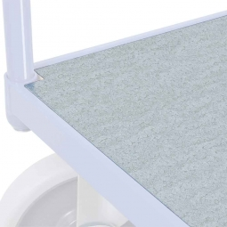 Blech-Ladefläche LxB 1000x700 mm, Verzinktes Stahlblech