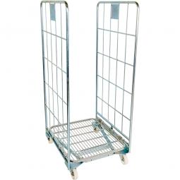 Nestbarer Metall-Rollwagen 2-seitig, LxBxH 800 x 700 x 1665 mm