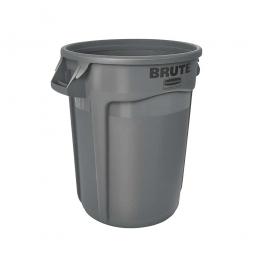 Runder Brute Container, 121 Liter, grau