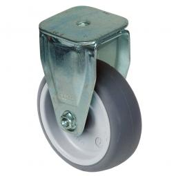 Bockrolle für Transportroller, Rad-ØxB 100x30 mm, Tragkraft 85 kg