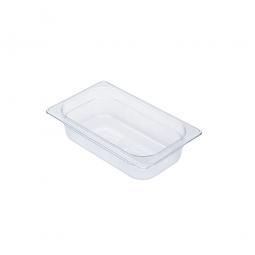 Gastronorm-Schale GN1/4, LxBxH 265 x 162 x 65 mm, 1,6 Liter, Polycarbonat