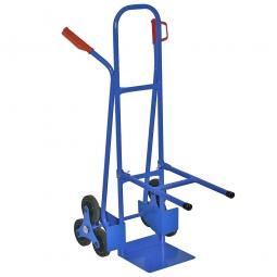 Stuhl-Treppenkarre aus Stahlrohr, BxTxH 520x820x1300 mm, Tragkraft 175 kg
